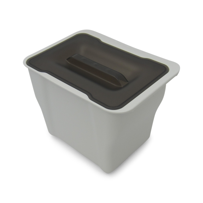 Copenhagen 1-5 - Affaldsspand i hvid plast på 5 liter