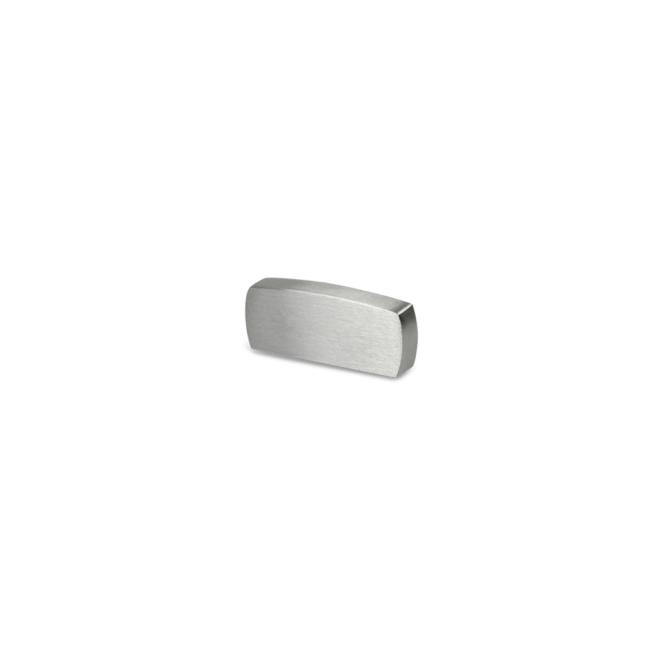 Liseby - Lille greb i børstet aluminium