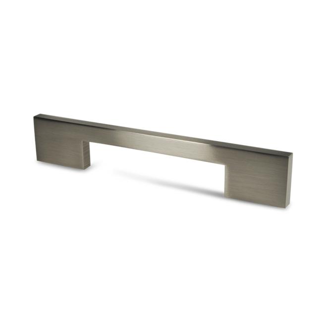 Herning - Greb i aluminium i rustfri stål look