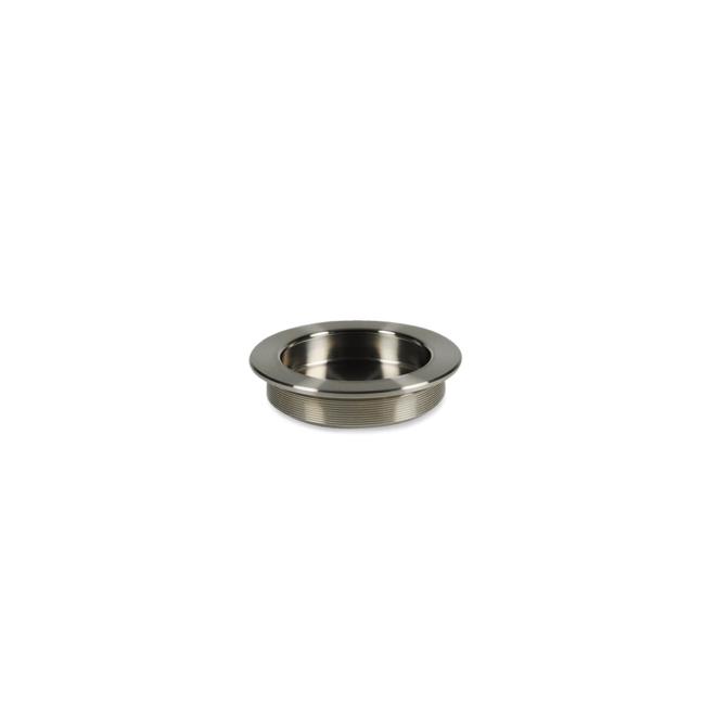 Lynge - Skålgreb i poleret rustfri stål i Ø55/65 mm