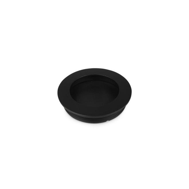 Faxe - Skålgreb i mat sort i Ø55/60 mm