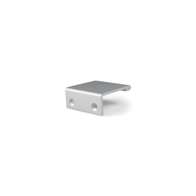 Ballerup • Minimalistisk greb profil i overfladebehandlet aluminium