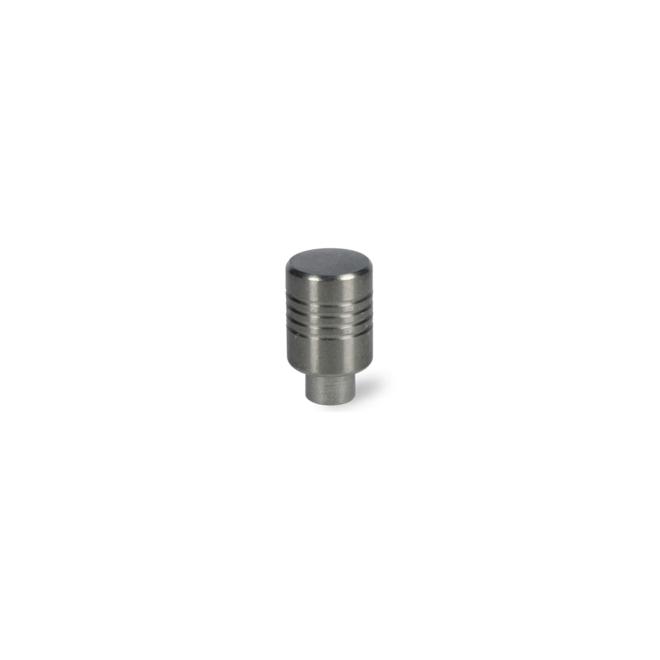 Skødstrup - Mikrofon knop i massiv rustfri stål