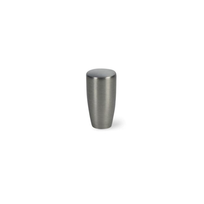 Vejers - Konisk knop i rustfri stål look