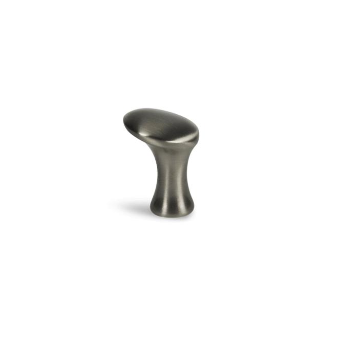Klitmøller - Knop i rustfri stål look