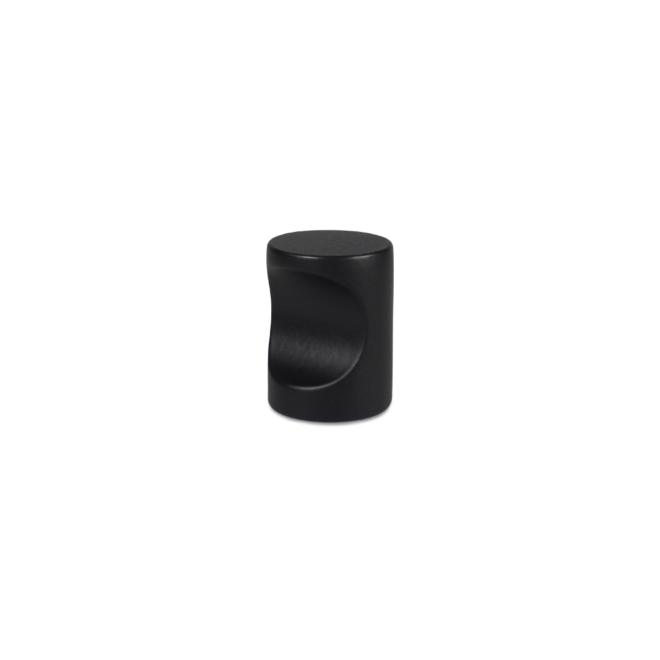 Nordhavn - Cylinder knop i mat sort