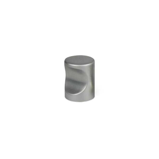 Nordhavn - Cylinder knop i mat krom
