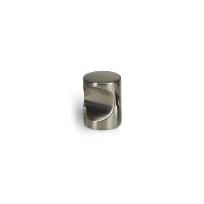 Nordhavn - Cylinder knop i rustfri stål look