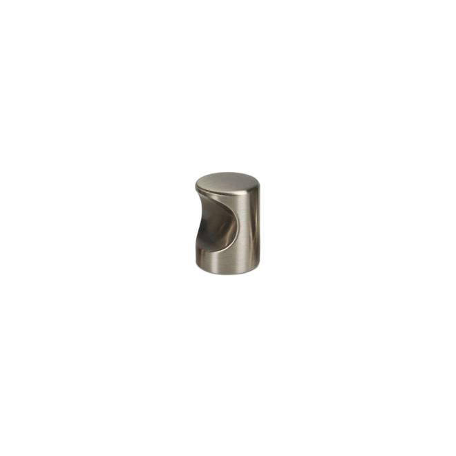 Blokhus - Cylinder knop i rustfri stål look