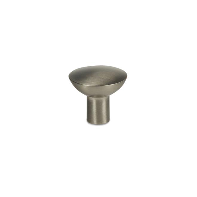 Gladsaxe - Knop i rustfri stål look