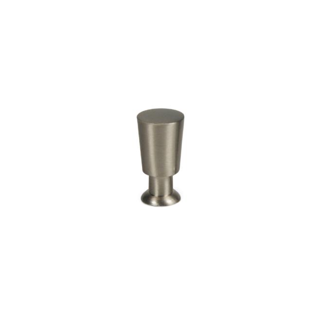 Egå - Cylinder knop i børstet rustfri stål look