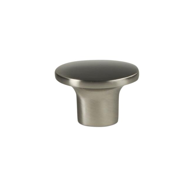 Marselisborg - Klasisk knop i rustfri stål look - oval