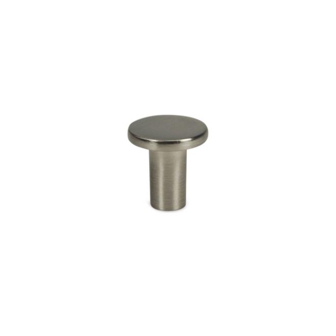Jerup - Fin knop i rustfri stål look