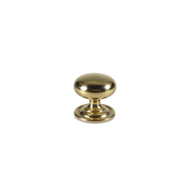 Nykøbing - Antik knop i blank messing