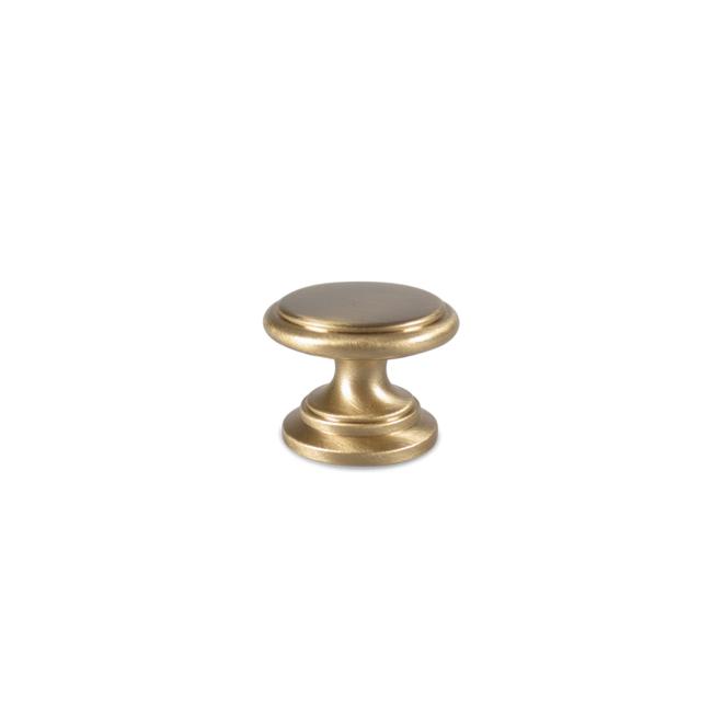 Jægersborg - Italiensk antik knop i børstet messing