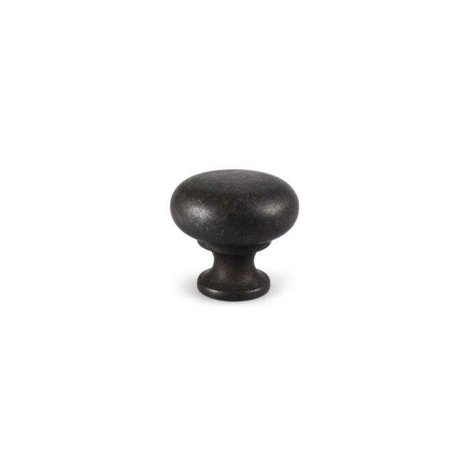 Skodsborg - Klassisk knop i antik sort