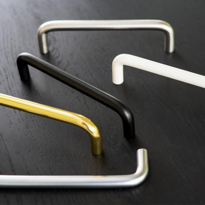 Dragør • Bøjlegreb i massiv rustfri stål