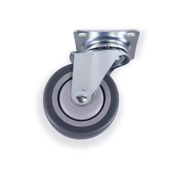 Hamborg - møbelhjul i Ø75 mm. uden bremse